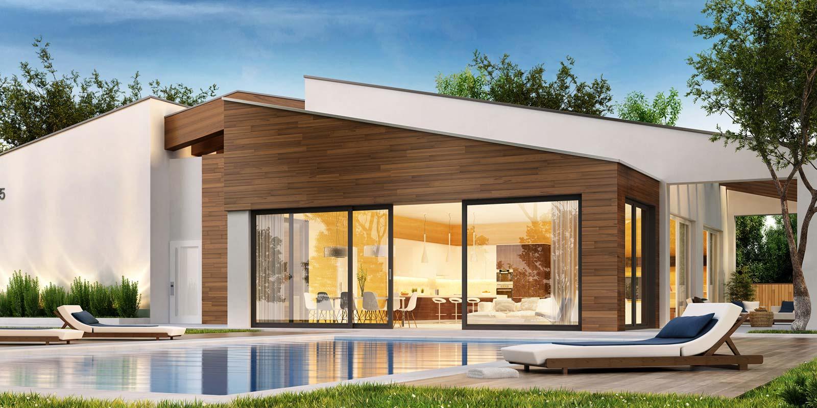 Case in legno e vetro case in legno vendita e montaggio for Case in legno e acciaio